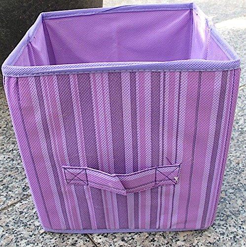 JEAN Aufbewahrungsbox 20x20x20cm Faltbox fuxia