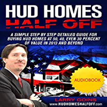 HUD Homes Half Off! Audiobook by Larry H. Goins Narrated by Larry H. Goins