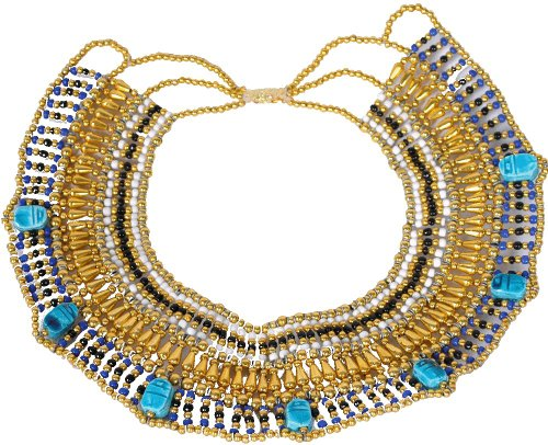 Medium Size CLEOPATRA SCARAB BELLY DANCE ORIENTAL NECKLACE CLEOPATRA GYPSY B4