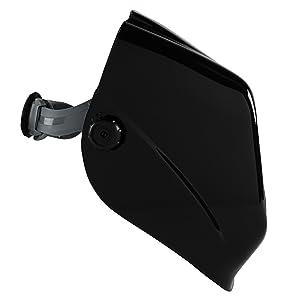 Jackson Safety 46131 Insight Variable Auto Darkening Welding Helmet, HaloX ,Black (Color: Black, Tamaño: 1 Welding Helmet)