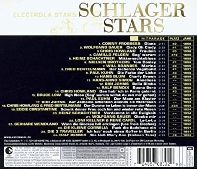 Schlager & Stars:die 50er Jahre
