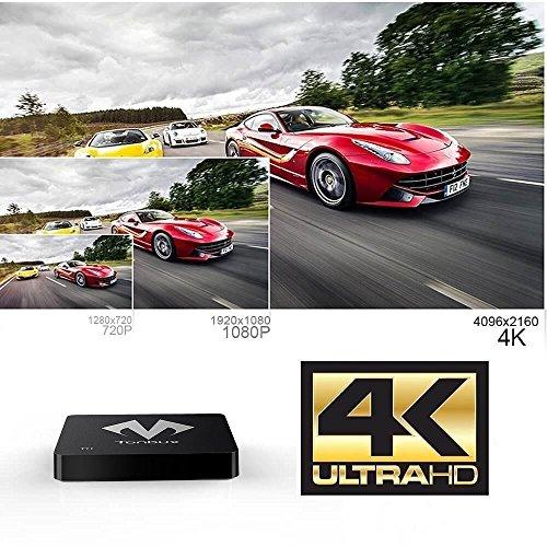 Android-TV-Box-KODI-Fully-Loaded-4K-Ultra-HD-Android-Box-TV-Box-Tonbux-T11-Amlogic-S905-Quad-Core-Streaming-Media-Player-DDR3-1GB-Memory-and-8GB-Storage-Android-51-WiFi-Kodi-Box