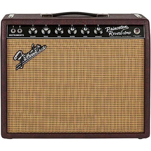 Fender Limited Edition '65 Princeton Reverb 15W 1x12 Tube Guitar Combo Amp Bordeaux Reserve (Fender Princeton Reverb Cover compare prices)
