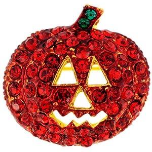 Siam Pumpkin Pin Halloween Pin Brooch