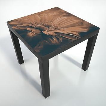 table basse pellicule pellicule de protection 55x55x45 cm table table noire table. Black Bedroom Furniture Sets. Home Design Ideas