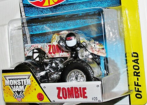 Zombie New Truck 2014 Hot Wheels Monster Jam 1:64 Scale Off Road Truck #20 - 1