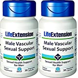 Life Extension Male Vascular Sexual Support 30 Capsules 2 Bottles