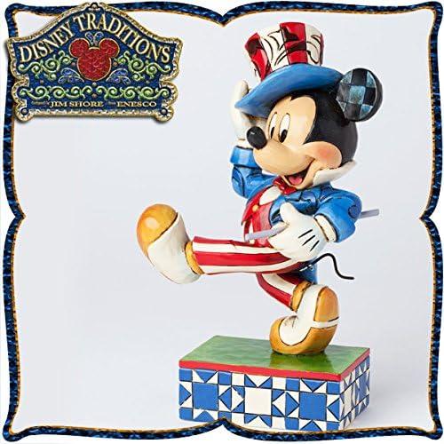 디즈니 목각조 피규어 미키마우스 「아메리칸 스피릿」 디즈니・tradition