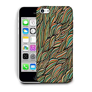 Snoogg Multicolor Leaves Printed Protective Phone Back Case Cover For Apple Iphone 6 / 6S