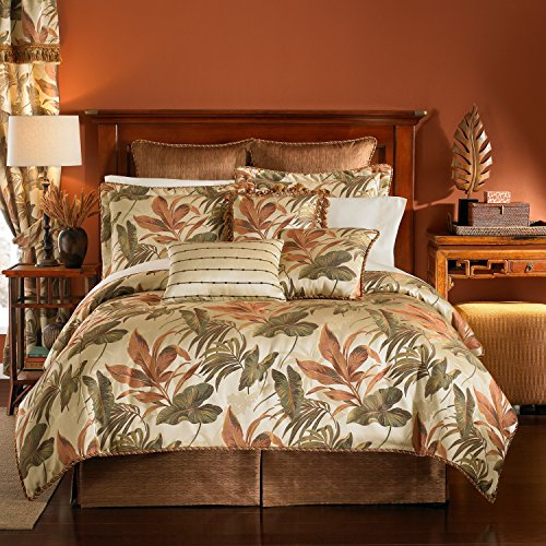 Croscill Tropical Bali 6 Piece Queen Comforter Set - Bundle front-842987