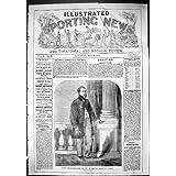 Una Stampa Antica dell'Università Professionale 1863 del Giocatore Di Bocce di Slinn del Ritratto Oxford
