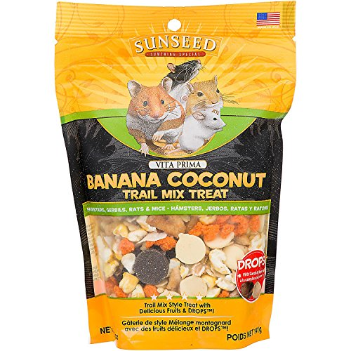 Vitakraft Vita Prima Banana Coconut Trail Mix Treat 61wCegsAJKL