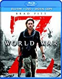 61wCtfXvBvL. SL160  World War Z (Blu ray + DVD + Digital HD)