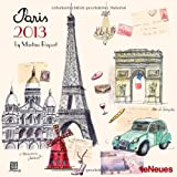 TeNeues 2013 Paris Martine Rupert Mini Grid Calendar