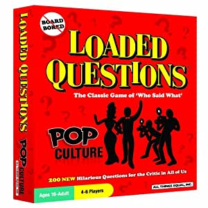 Loaded Questions: Pop Culture
