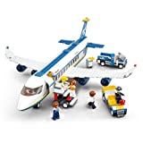 Sluban Aviation Blocks Plane Bricks Toy-Airbus (Color: Airbus)
