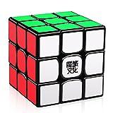 D-FantiX Moyu Weilong GTS V2 3x3 Speed Cube, Moyu Weilong GTS2 3x3x3 Magic Cube Puzzle Black (Color: Black)
