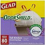 Glad OdorShield Tall Kitchen Drawstri...