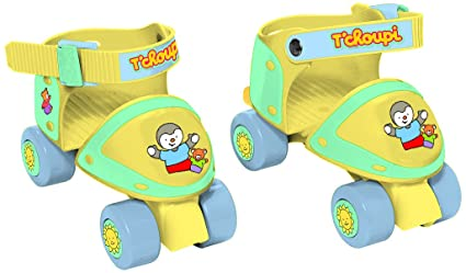 T'Choupi - Otch151 - Rollers - Patin A Roulettes - Taille Ajustable 24-29