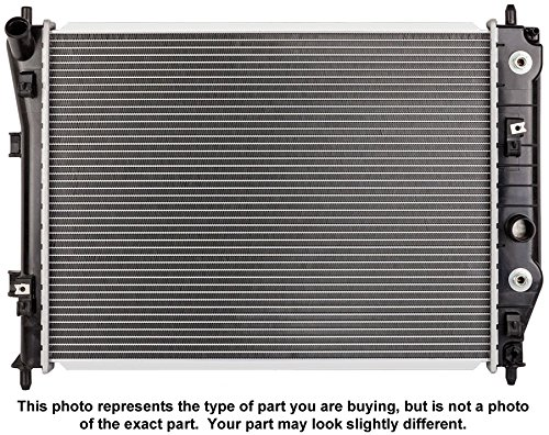 Brand New Premium Quality Radiator For Mercedes Benz C230 Kompressor - BuyAutoParts 19-01560AN New (1999 Mercedes Benz C230 Radiator compare prices)
