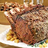 Magnificent Four Bone Angus Frenched Prime Rib by Certified Steak and Seafood Company