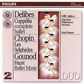 Delibes: Coppélia - Chopin: Les Sylphides - Gounod: Faust (2 CDs)