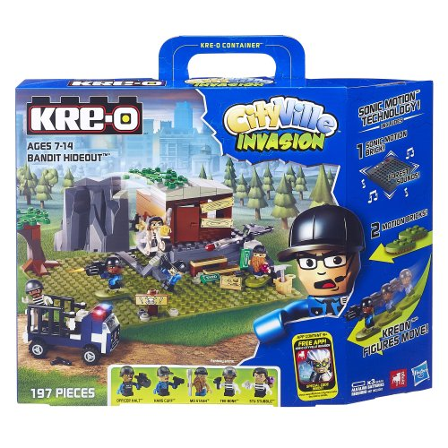 Kre-o City Ville Invasion Dr.Mayhem Hideout with Sonic Motion - 1