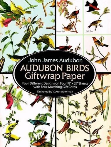 Audubon Birds Giftwrap Paper (Dover Giftwrap)