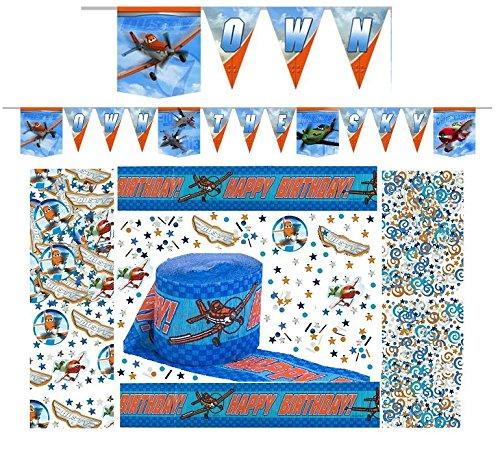 Disney Planes Happy Birthday Decorating Kit - Banner Confetti & Streamer front-1029045