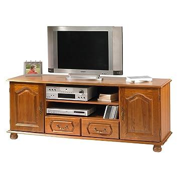 TV-Möbel Eiche 2Turen 2Schubladen Schöne Möbel gunstig