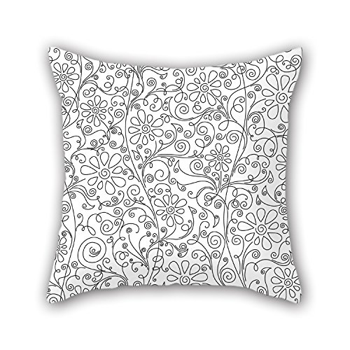 PILLO Bohemian Throw Pillow Case 18 X 18 Inches / 45 By 45 Cm Gift Or Decor For Kitchen,couch,couples,wedding,home Office,son - Each Side (Reed Broom compare prices)