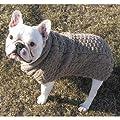 Ragg Woo Cable Shawl Dog Sweater