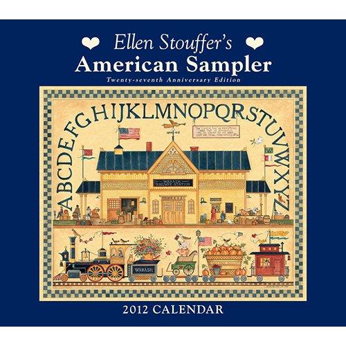 ellen-stouffer-american-sampler-wall-calendar-2012