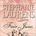 Fair Juno Audiobook by Stephanie Laurens Narrated by Elizabeth Jasicki