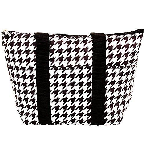 SLM Printed Thermal Insulated Lunch Bag-Houndstooth (Thermal Pocket compare prices)
