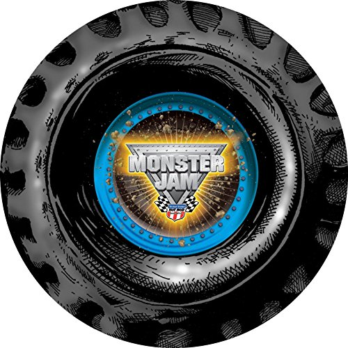 Monster Jam 3D Round Activity Placemats (4)
