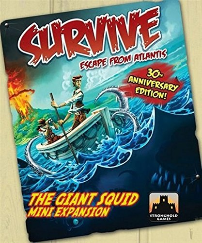 Stronghold Games 001A Survive 30Th Anniversary - Giant Squid Expansion - 1