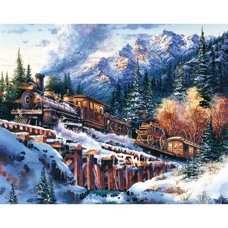 Picture of Sunsout Rocky Mountain Life Line 100pc Jigsaw Puzzle (B000H82HCE) (Puzzle Accessories)