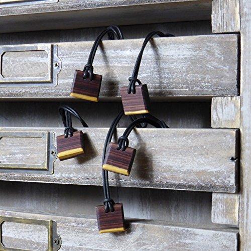 lot-de-5-colliers-1-offert-en-bois-de-violette-homme-et-femme