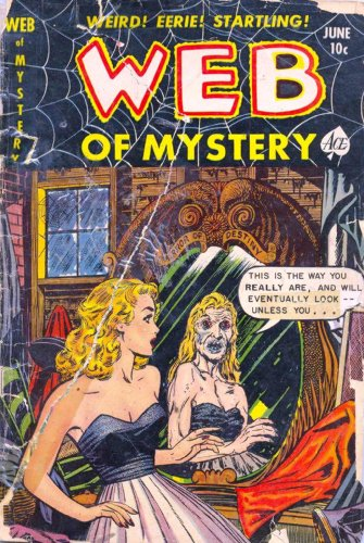 Web of Mystery - 10 cover