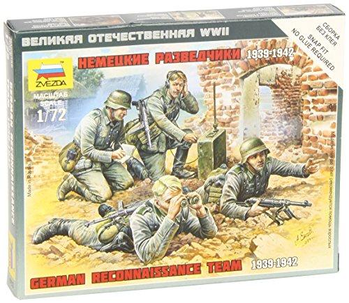 Zvezda Models 1/72 German Reconnaissance Team WWII