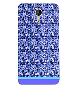 PrintDhaba Shapes Pattern D-1488 Back Case Cover for LETV (LE ECO) LE 1 PRO (Multi-Coloured)