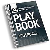 Das beliebte 1x1SPORT Playbook #FUSSBALL | Spielfeldvorlagen & Trainingshilfen für Fußballtrainer (Ringbuch, Fußball-Übungs- und Taktikblock, Din-A5, 200 Seiten)