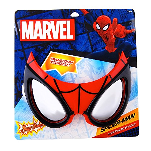 Spiderman Super Hero Shades/Mask from Stop On Buy