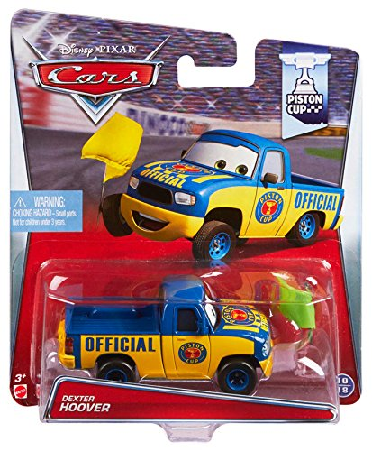 Disney/Pixar Cars Dexter Hoover with Yellow Flag Diecast Vehicle