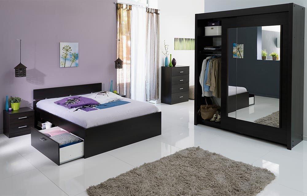 Jumbo-Möbel Schlafzimmer INFINITY 212 in Kaffee jetzt kaufen