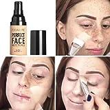 concealer,BB Cream certainPL Makeup Liquid Foundation Moisturizing Waterproof Concealer (A)