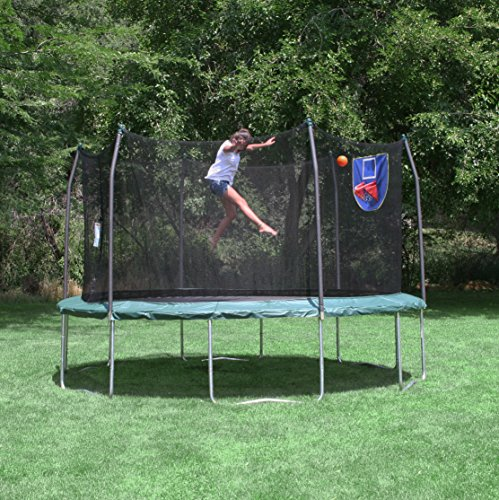 Skywalker Trampolines 15 Feet Jump N Dunk Trampoline With