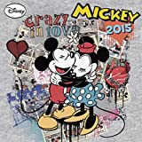 2015 Disney Mickey Retro 30x30 Grid Calendar
