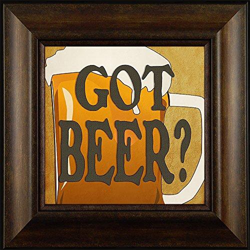 Got Beer? By Todd Thunstedt 20x20 Beer Brew House Still Brewing Brewery Pale Ale Heineken Leinenkugels Lager Malt Man Cave Framed Art Print Wall Décor Picture